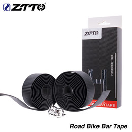 $enCountryForm.capitalKeyWord NZ - ZTTO Bicycle Accessory Road Bike High Quality Vibration Damping Anti-Vibration EVA PU Handlebar tapebike Bar Tape Wrap +2 Bar Plug