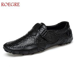 $enCountryForm.capitalKeyWord Australia - New Spring Fashion Outdoor Handmade Leather Casual Men's Shoes Fashion Plate Exquisite Design Non-slip Comfort Lace Solid L