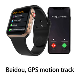 Bluetooth Smart Watch Huawei Australia - IWO Smart watch 44mm Series 4 1to1 Bluetooth Smartwatch Heart Rate Monitor Sport for Huawei Xiaomi iPhone x xs Goophone iwatch phone Watches