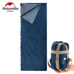 $enCountryForm.capitalKeyWord Australia - Naturehike Splicing Envelope Sleeping Bag 3 Season Lightweight Portable For Adults Outdoor Camping Backpack Hiking