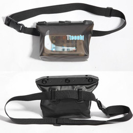 Swimming Pack Australia - Fashion Pvc Waterproof Waist Packs Pocket Bag For Surfing Swimming Snorkeling Rafting Skiing Travel Running Waist Pack Pouch Bag