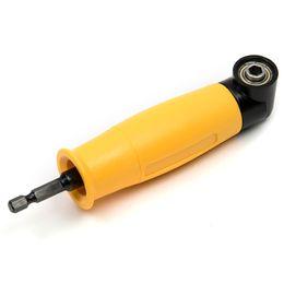 $enCountryForm.capitalKeyWord Australia - hex drill bit 90 Degree Angle Extension Right Driver Drilling Shank Screwdriver Magnetic 1 4 Inch Hex Drill Bit Socket Holder Adaptor Sleeve