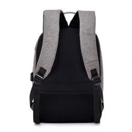 nylon 17 inch laptops UK - 15.6 inch Laptop Rucksack Anti-theft Backpack Travel Backpack Large Capacity Business Bags USB Charge College Student School Bags hot