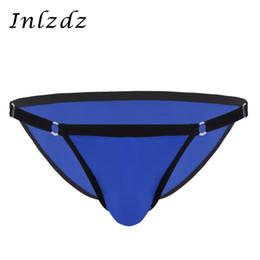 $enCountryForm.capitalKeyWord Australia - Gay Underwear Mens Lingerie Adjustable Waistband Briefs Shorts Soft Fabric Solid Color Panties Low Rise Bikini Briefs Underwear