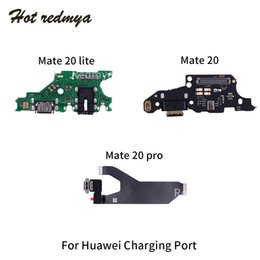 port dock connector Australia - USB Charger Dock Connector For Huawei Mate 20 Lite Pro Charging Port Flex Cable Headphone Jack Ribbon Replacement Parts