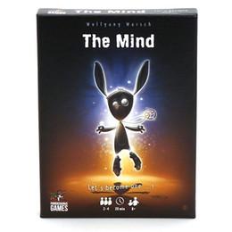 Fun Card Australia - The Mind Card Game Board Game Family Friends Interactive Fun Children's Educational Toys