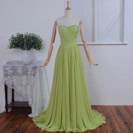 petite chiffon dresses NZ - A Line Chiffon Long Pageant Evening Dresses Women's Formal Floor Length Bridal Gown Special Occasion Prom Bridesmaid Party Dress 17LF887