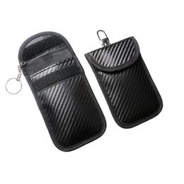 Faraday Çanta RFID Sinyal Engelleme Çantası Koruyucu Çanta Cüzdan Kılıf Cep Telefonu için Gizlilik Koruma ve Araba Anahtarı
