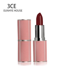 3ce Wholesale Lipstick Australia - 3CE Eunhye House 10 Colors Moisturizer Lipsticks Long lasting Easy to Wear Smooth Lips Cosmetic Nude Makeup Beauty Rouge