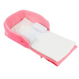 infant cradle beds UK - Newborn Baby Portable Crib Cradles Infant Safety Folding Bed Cot Playpens Bed Child Comfort Health & Care Station for 0-6 Months