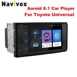 "Media Player Australia - Navivox 7"" Android 8.1 4 Core 2Din Car Media Player for Corolla E120 Toyota RAV4 Hilux Fortuner Innova Prado No DVD"