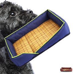 cat beds medium NZ - New pet kennel summer mattress dog kennel cat kennel pet beds, small and medium-sized pet supplies