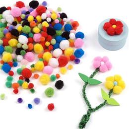 $enCountryForm.capitalKeyWord Australia - About 100pcs 10mm Pompon Balls Home Decor Decorative Flowers Intelligence Educational Crafts Diy Toy Accessories Wreaths Garment