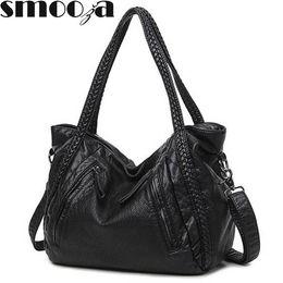 $enCountryForm.capitalKeyWord Australia - leather SMOOZA 2018 Large Soft Leather Bag Handbags Ladies Crossbody For Women Shoulder Bags Female Big Tote Sac