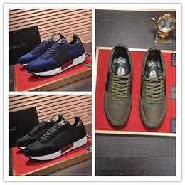1d9ddfcb8 Модный дизайнер Monc Luxury Brand Мужская обувь удобная дышащая высокого  класса мужская Повседневная обувь Moncl высокое качество мужчины кроссовки  Size39- ...