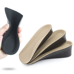 Lift Shoe Pads NZ - Height Increase Insoles Arch Support Half Shoe Lifts Elevator Shoe Insoles Heel Lift Inserts Black Shoe Pads