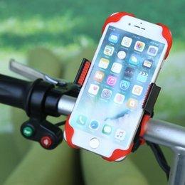 Universal Fahrrad Motorrad Lenkerhalterung Handyhalter Mit Silikon Handy Ständer Fahrrad Radfahren Zubehör # 329552