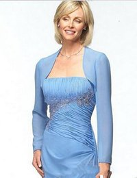 $enCountryForm.capitalKeyWord UK - High end customization Colour Size Chiffon Long Sleeves Mother Of The Bride Wedding Jackets Women Wraps Bridal Gown Formal Dress Bolero Brid