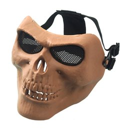 $enCountryForm.capitalKeyWord NZ - M02 CS Equipment Field Full Face Skeleton Mask Party Horror Cartoon Mask Halloween Masquerade Mask Tactical Usage Airsoft Hood