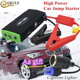 Car Emergency Start Australia - Mini Emergency Car Jump Starter 600A Portable Starting Device Power Bank 12V Car Charger For Battery Auto Starter CE