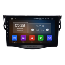 $enCountryForm.capitalKeyWord NZ - 9 inch Android 9.0 Touchscreen Car Multimedia Player for 2007-2011 Toyota RAV4 with Bluetooth WIFI GPS Navigation system support car dvd