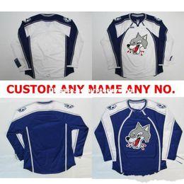 $enCountryForm.capitalKeyWord Australia - Customize OHL Sudbury Wolves Jersey Mens Womens Kids Personalized 100% Stitched Any Name NO.Ice Hockey Jerseys Goalit Cut Hot sale