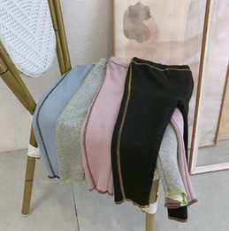 Korea girl legs online shopping - 2019 Korea style girls boys leggings autumn winter cotton fashion kids leggings t