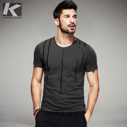 Black Striped T Shirt Men Australia - Summer 2018 Mens T Shirts Cotton Striped Print Gray Green Black Tops For Man Short Sleeve Casual T-shirt Male Tee Shirts 0129 Y19050701