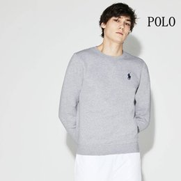 long sleeves polo designs NZ - 2019 New embroidery Sweatshirts Man Luxury design brand Round Neck Hoodies Long sleeve Nime Ralph Casual black Hoodie polo horse women