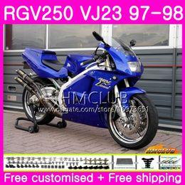 $enCountryForm.capitalKeyWord Australia - Bodys For SUZUKI SAPC RGV-250 VJ22 VJ21 RGV 250 97 98 99 Frame 19HM.97 RVG250 VJ23 RGV250 VJ 21 22 23 1997 1998 1999 Fairing New Gloss blue