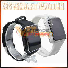 $enCountryForm.capitalKeyWord NZ - X6 Smart Watches With Camera Touch Screen Support SIM TF Card Bluetooth Smartwatch For Iphone Samsung Phone Wristwatches with Retail Box