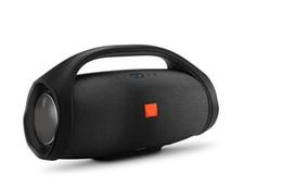 Vente en gros 2020 Son Boomsbox Haut-parleur Bluetooth Stere 3D HIFI Caisson de basses mains libres stéréo portable extérieur gratuit DHL subwoofers