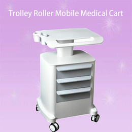 Carts Trolleys Australia - New Professional Trolley Roller Mobile Medical Cart With Draws Assembled Stand Holder For Beauty Salon Spa HIFU Machine