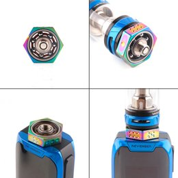 Toys for geeks online shopping - new VAPE SPINNER Geek Spinners Fidget Toy Metal Fingertips Gyro For Thread RDA RTA RDTA Tank DHL