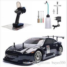 RC Car 4wd 1:10 On Road Racing Two Speed Drift Vehicle Toys 4x4 Nitro Gas Power High Speed Hobby Remote Control Car on Sale