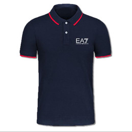 England tEE shirts online shopping - Brand Designer Summer Polo Shirt Embroidery Mens Polo T Shirts Fashion Style Shirt for Male Women High Street Top Tee