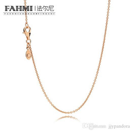 mm snake chain Australia - FAHMI 2017 fashion pink gold necklace color brand 7 MM Cuba man chain hip-hop pink gold plated jewelry wholesale 580412