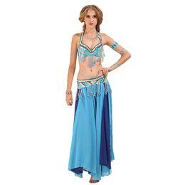 7c17f02db3 E&A 2019 Lady Performance Clothes Fashion Belly Dance Costume Bra and Belt Set  Skirt Set Women Belllydance Top Dress Waist Chain