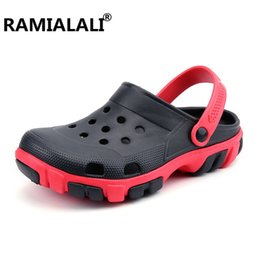 $enCountryForm.capitalKeyWord Australia - Ramialali Men Sandals 2018 Summer Beach Shoes Breathable Casual Suandals Men Fashion Slip on Summer Shoes #45843