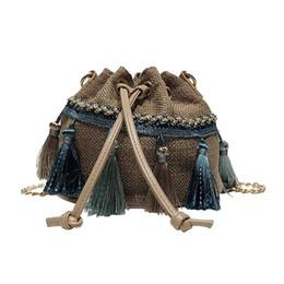 $enCountryForm.capitalKeyWord UK - Women's Handbag Straw Woven modern boho beach linen shoulder bags