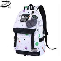 Laptop Travelling Bag Australia - new 2018 girls school bags fashion girl school backpack women travel bags korean style backpacks for teenage girls laptop bag