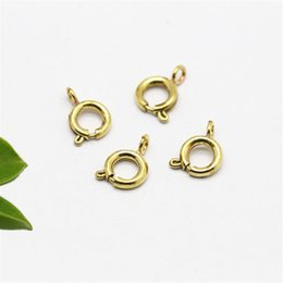 Copper earring Clasp online shopping - Manual DIY accessories Slingshot clasp pendant necklace earrings material accessories