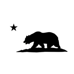 $enCountryForm.capitalKeyWord UK - California Republic Flag Free Car Truck Vinyl Car Sticker Decorative Decal Accessories