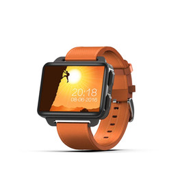 "Smart Watches Gps Wifi Australia - New DM99 Smart Watch MTK6580 Android 5.1 3G GPS Wifi Fitness Track Heart Rate Smartwatch 2.2"" IPS Big Screen"