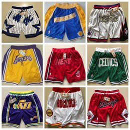 $enCountryForm.capitalKeyWord Australia - 2019 HOT SALE New Season Authentic JUST DON CHI Running Basketball Jersey Shorts Chicago state Men and youth Bulls Short Jersey