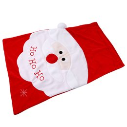 cute christmas gift bags Australia - Merry Christmas Decoration Cute Santa Claus Large Sack Stocking Gifts Bags HO HO Christmas Santa Claus Xmas Gifts Storage Bag