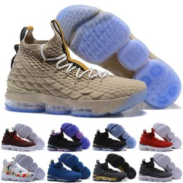 ee7262ccb1c7 07  High Quality Newest Ashes Ghost Lebron 15 Kids Basketball Shoes Arrival Sneakers  15s Mens Casual 15s King James sports shoes LBJ