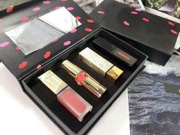 $enCountryForm.capitalKeyWord UK - 10 set Famous Y Brand Lip Makeup set Matte Liquid Lipstick Lipgloss Lip Gloss 4 in 1 Cosmetic Kit
