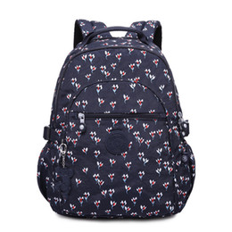 Purple Travel Pillow NZ - Cool2019 Backpack Shoulders Both Practical Travelling Flower Colour Various Optional Girl Student A Bag