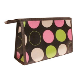 $enCountryForm.capitalKeyWord Australia - Hot Sale Cheap Cute Dots Printed Multi-Function Cosmetic Bag Women Ladies Zipper Make Up Bags Portable Travel Makeup Bag